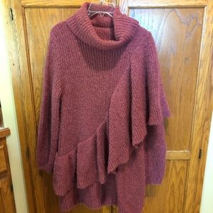 H & M alpaca sweater dress